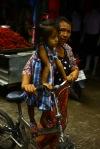 bisikletli bir aile